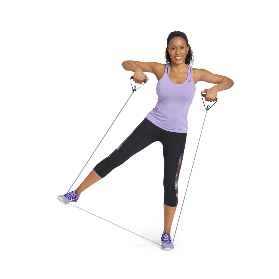 3 Moves With Resistance Bands That Tone Your Whole Body