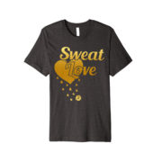 sweat Love shirt - dark grey